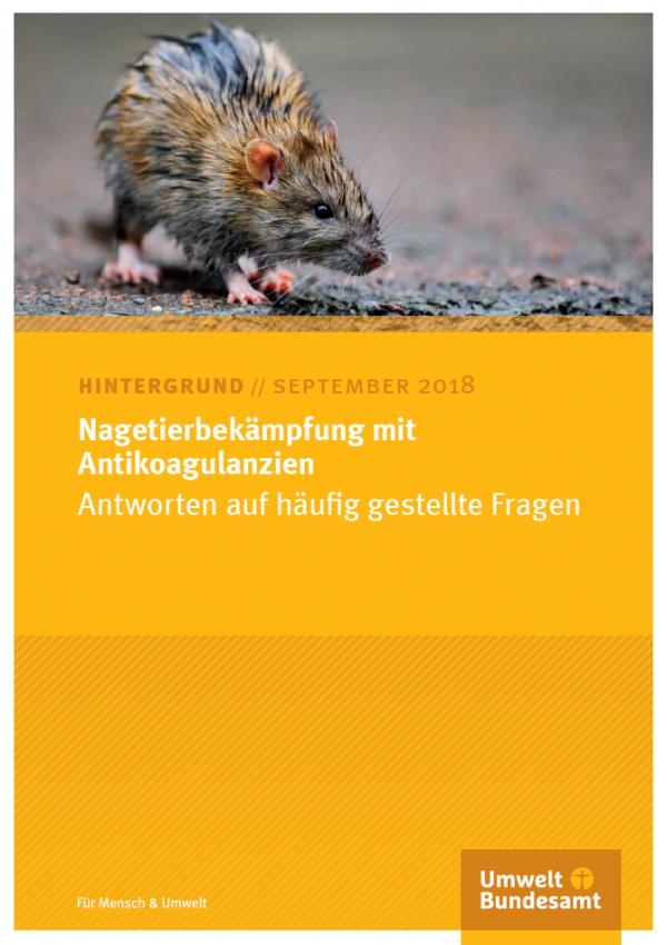 Cover Nagetierbekämpfung mit Antikoagulanzien