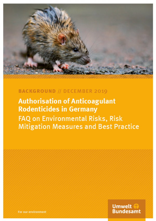 Cover Authorisation of Anticoagulant Rodenticides in Germany