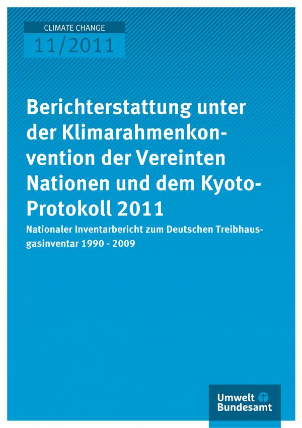 Publikation:Nationaler Inventarbericht zum Deutschen Treibhausgasinventar 1990 - 2009