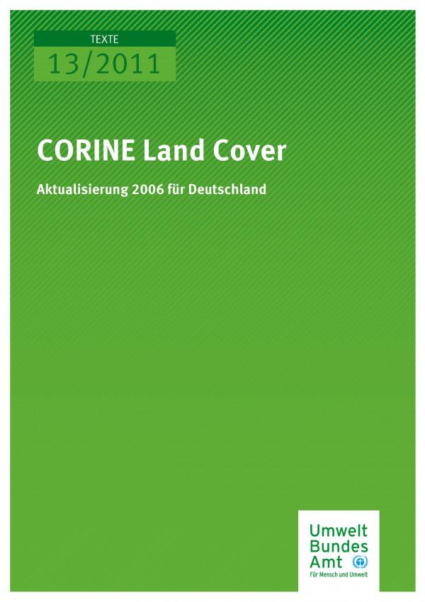 Publikation:CORINE Land Cover - Aktualisierung 2006 für Deutschland