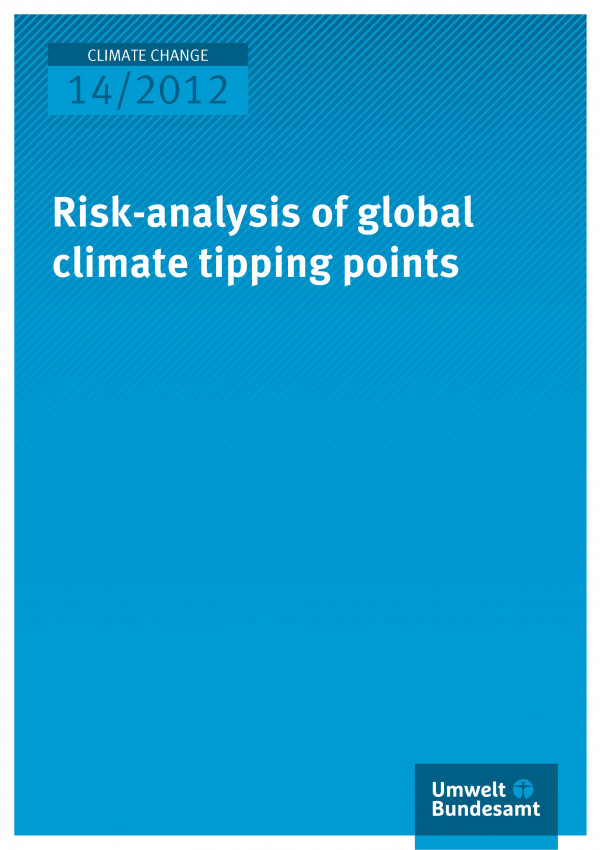 Publikation:Risk-analysis of global climate tipping points