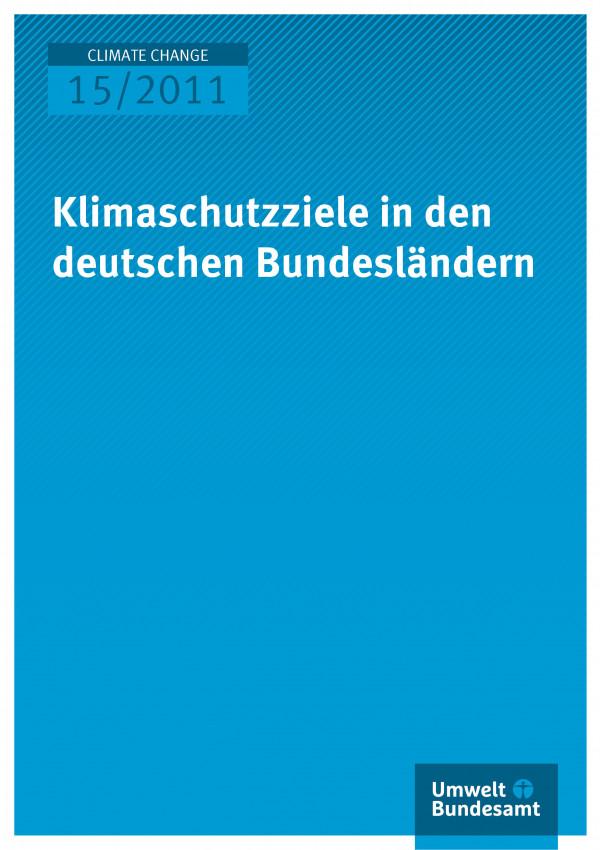 Publikation:Klimaschutzziele in den deutschen Bundesländern