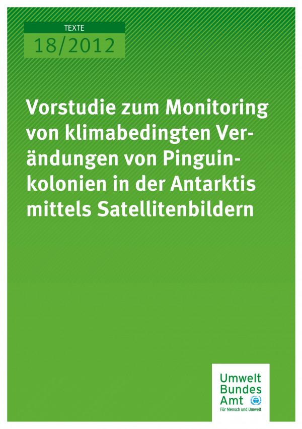 Publikation:Monitoring Veränderungen von Pinguinkolonien in der Antarktis mittels Satellitenbildern