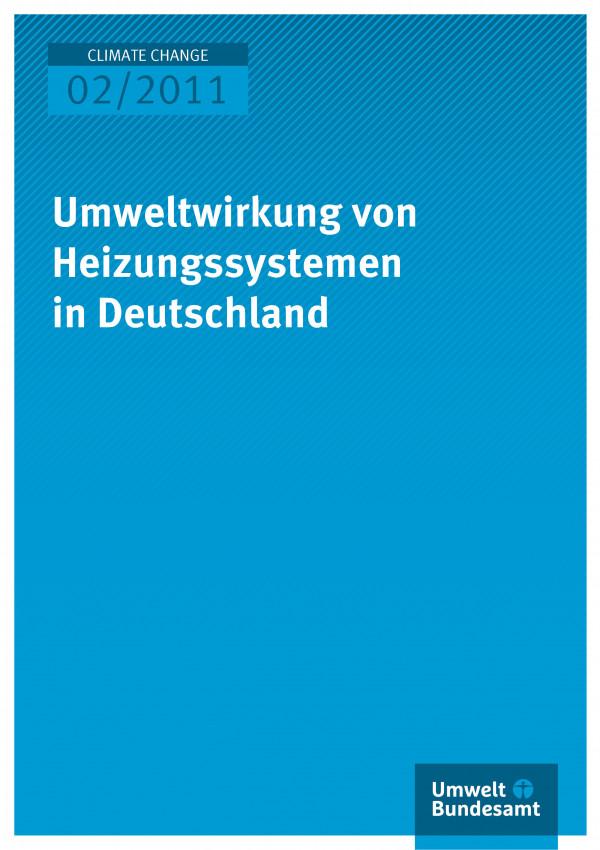 Publikation:Umweltwirkung von Heizungssystemen in Deutschland