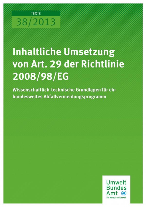 Cover Texte 38/2013
