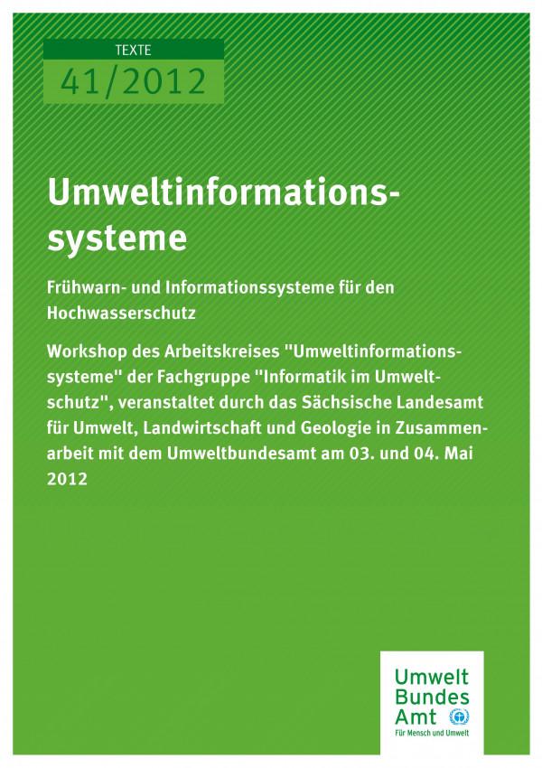 Publikation:Umweltinformationssysteme - Frühwarn- und Informationssysteme für den Hochwasserschutz