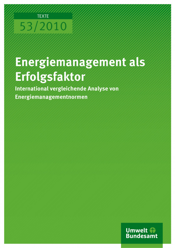 Energiemanagement als Erfolgsfaktor