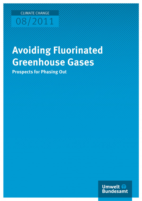 Publikation:Avoiding Fluorinated Greenhouse Gases - Prospects for Phasing Out