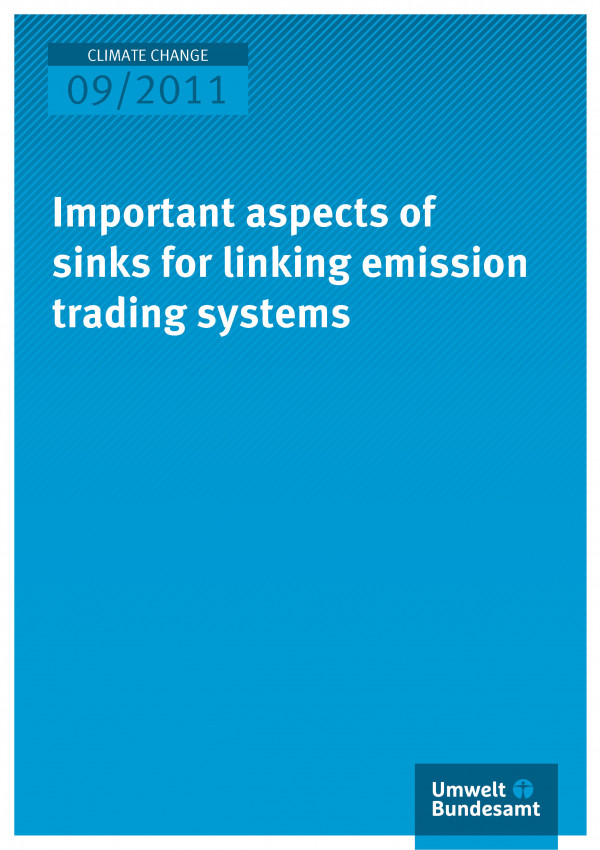 Publikation:Important aspects of sinks for linking emission trading systems