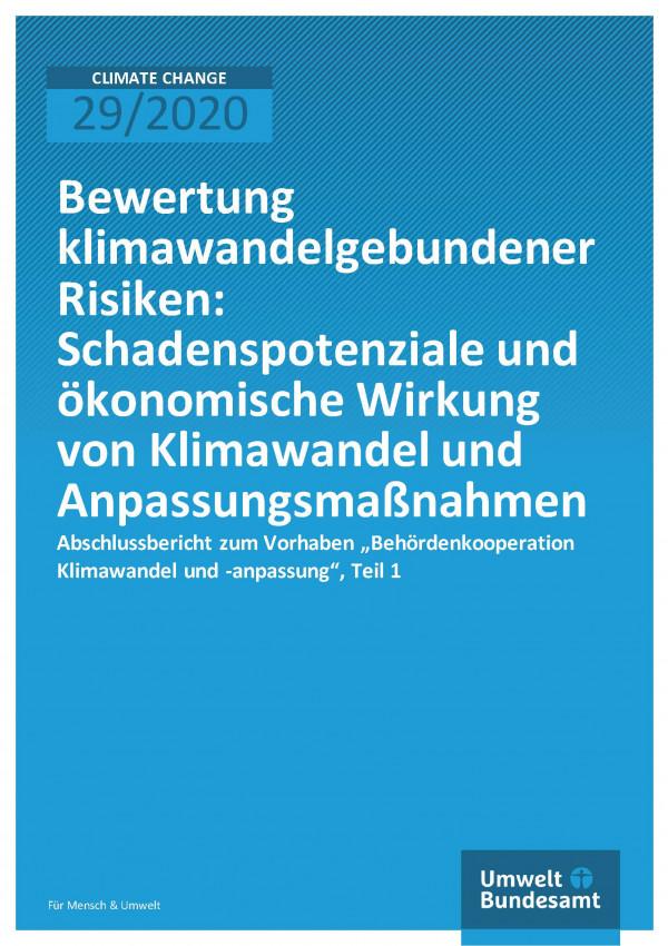 Cover_CC_29-2020_Bewertung_klimawandelgebundener_Risiken_Teilbericht_1