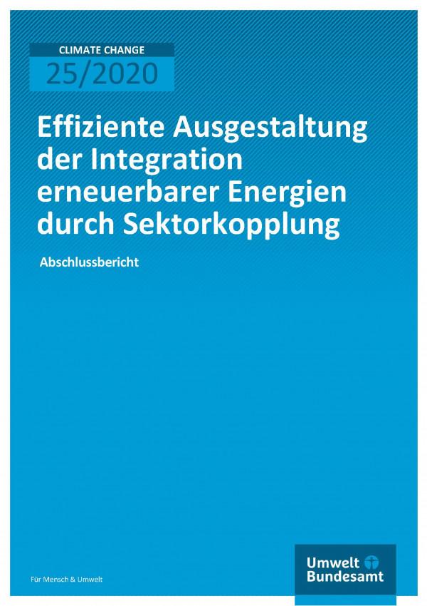Cover_Climate Change_25-2020_Effizieektorkopplung_Abschlussbericht