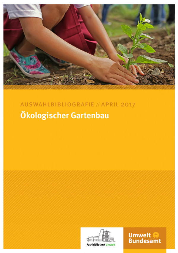 Cover Auswahlbibliografie Ökologischer Gartenbau
