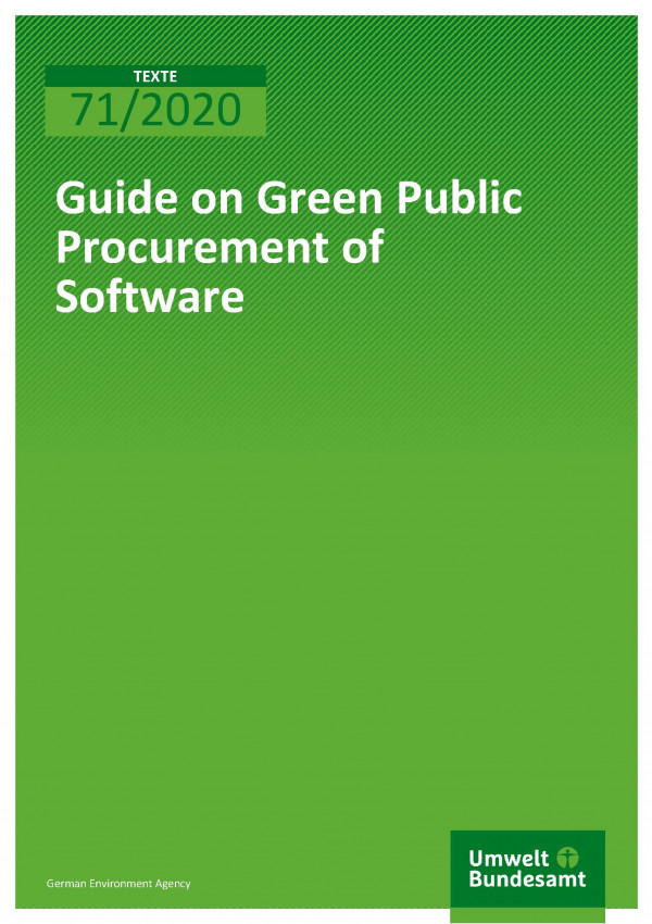 Cover_TEXTE_71-2020_Guide_on_Green_Purement_of_Software