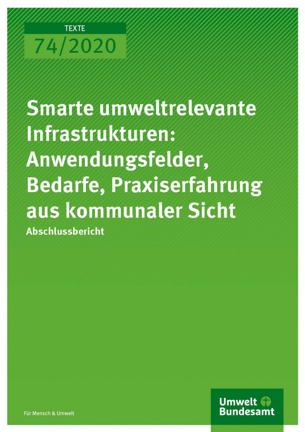 Cover_TEXTE_74-2020_smarte-Infrastrukturen
