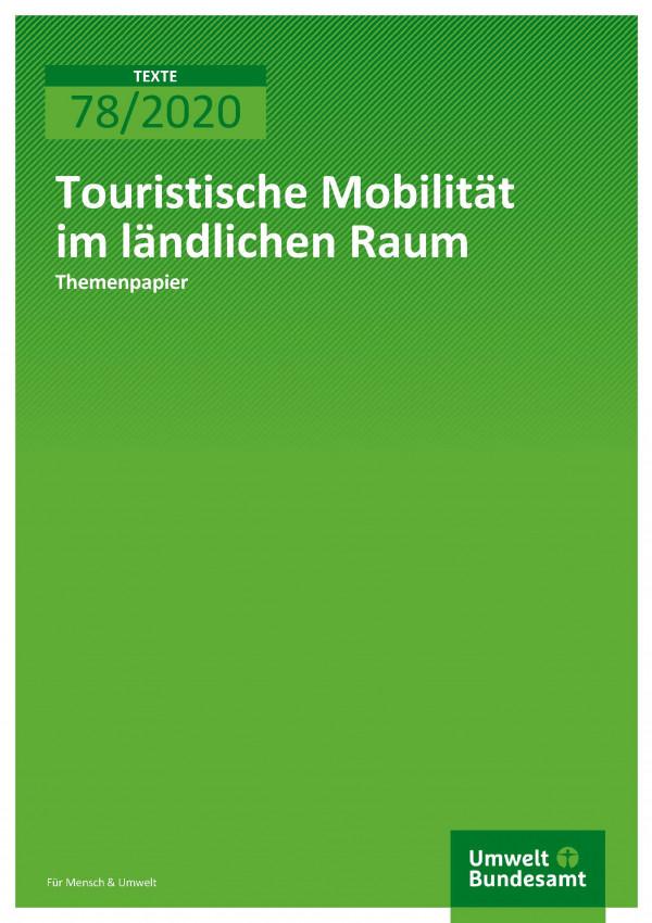 Cover_TEXTE_78-2020_Themenpapier_Mobilität