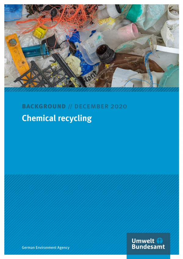 Cover of Background Chemical recycling