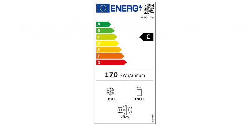 EU-Energielabel Kühlgeräte