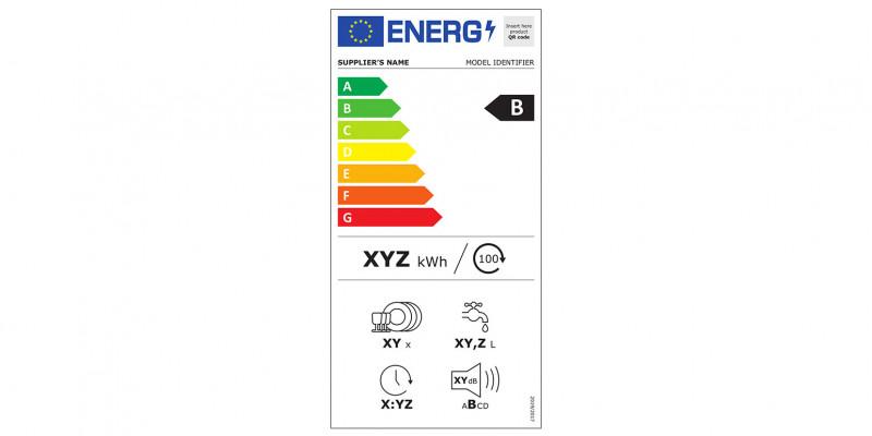 Energieverbrauchskennzeichnung für Geschirrspüler