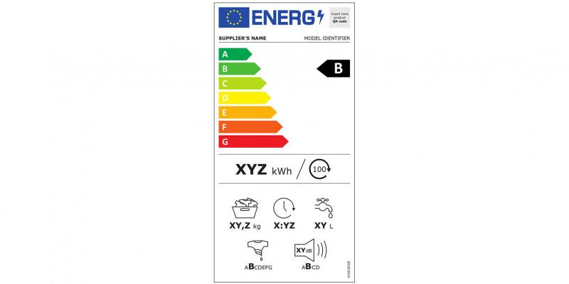 Energieverbrauchskennzeichnung für Waschmaschinen