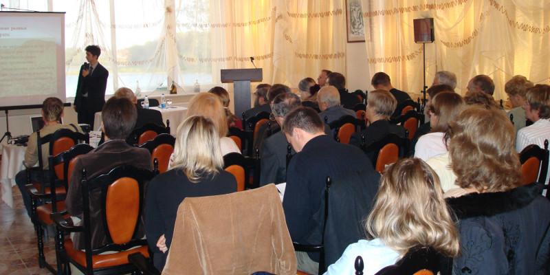 Bild eines Seminars der 5. Deutsch-Russischen Umwelttage