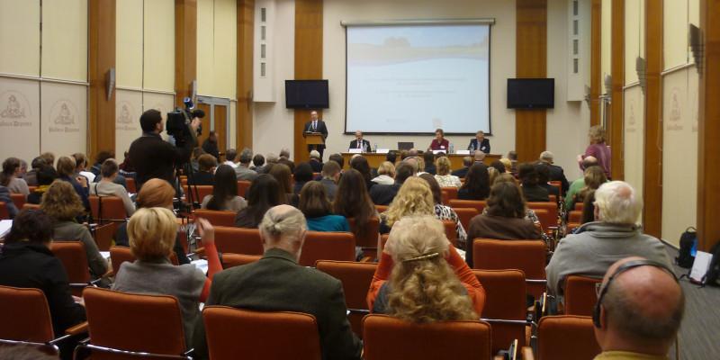 Bild eines Seminars der 8. Deutsch-Russischen Umwelttage