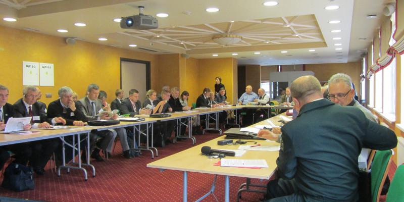 Bild eines Seminars der 9. Deutsch-Russischen Umwelttage