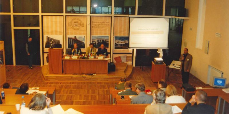 Bild eines Seminars der 2. Deutsch-Russischen Umwelttage