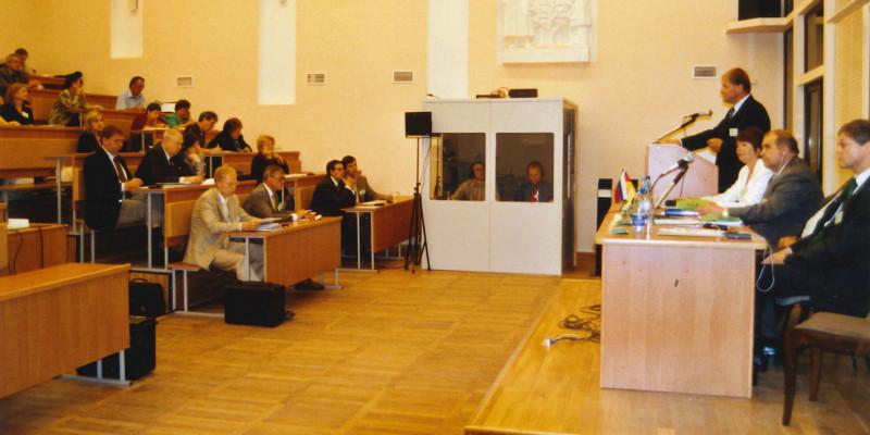 Bild eines Seminars der 3. Deutsch-Russischen Umwelttage