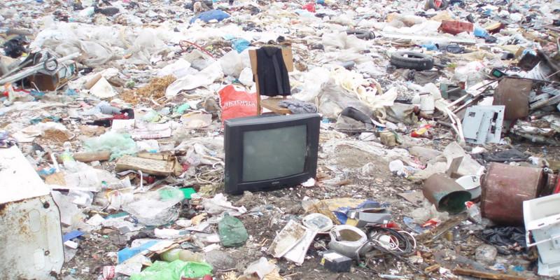 Bild einer Mülldeponie im Kaliningrader Gebiet