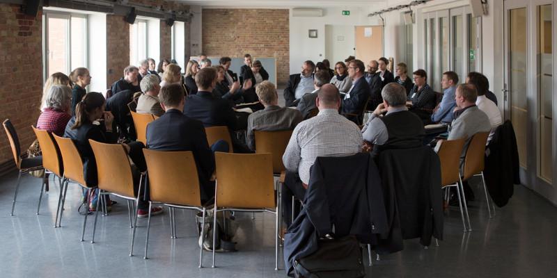 In den Workshops am 2. Tag nahm man statt den Themen die Handelnden in den Fokus