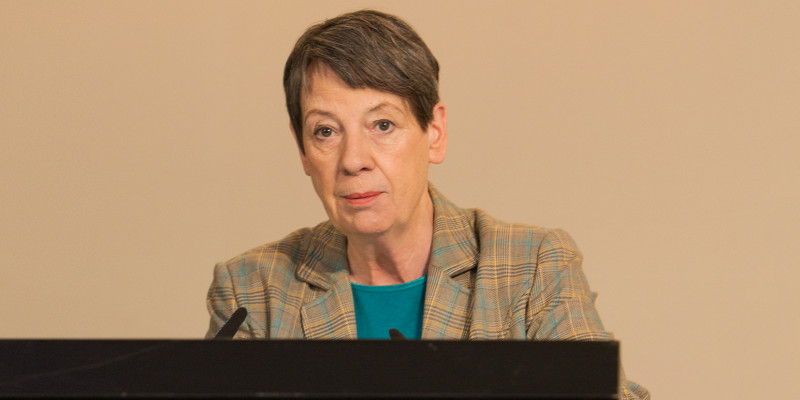 Begrüßung durch Bundesumweltministerin Dr. Barbara Hendricks