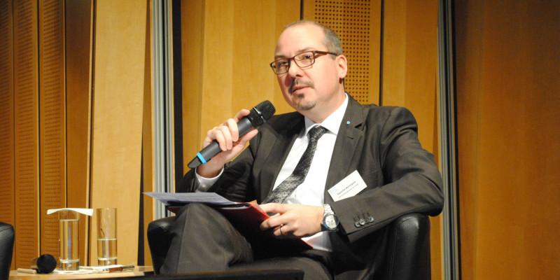 Sascha Hermann (Geschäftsführer, VDI Technologiezentrum GmbH, Mitglied Ressourcenkommission am UBA