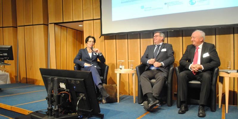 Prof. Dr. Christa Liedtke, Wilfried Kraus, Prof. Dr. Gunther Krieg