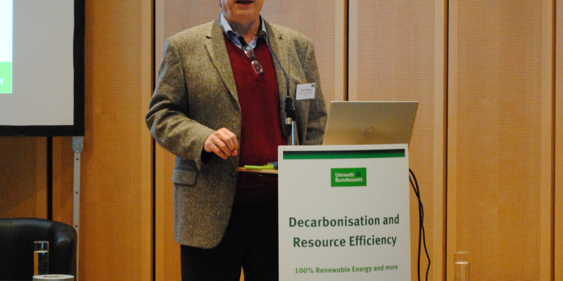 Dr. Harry Lehmann, Head of Division I, German Environment Agency (UBA)