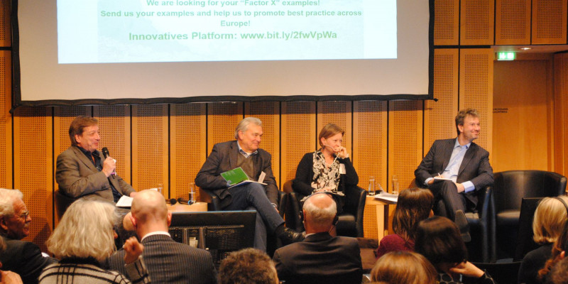 Panel discussion: New impulses for a resource efficient Europe