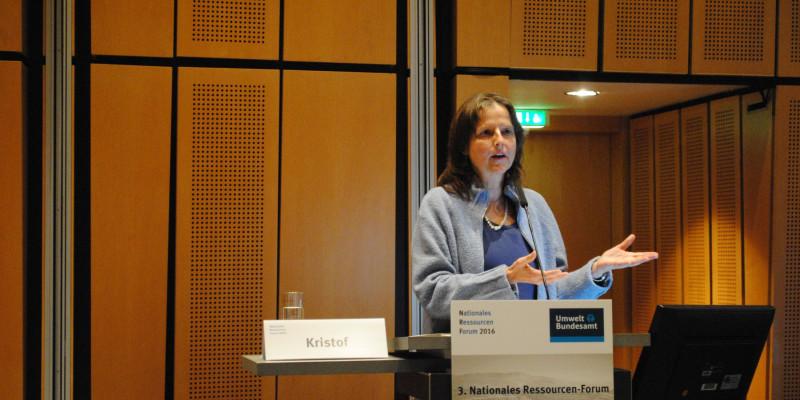 Dr. Kora Kristof (Leiterin Grundsatzabteilung, Umweltbundesamt)