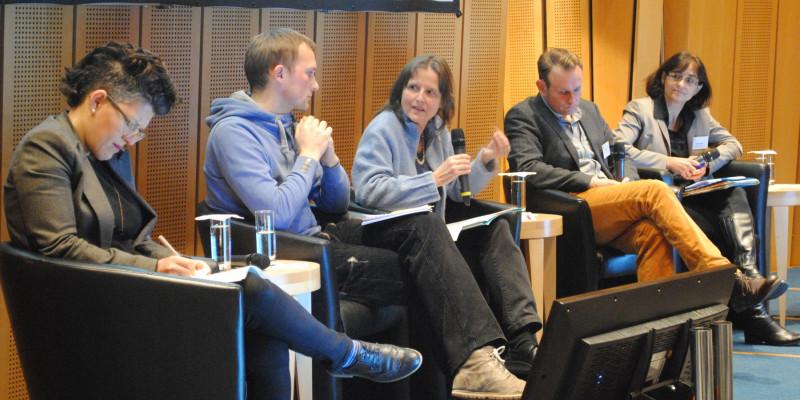 Podiumsdiskussion: Das Thema Ressourcenschonung in der politischen Stiftungsarbeit