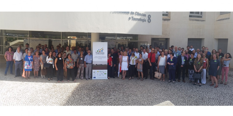 Gruppenfoto zum Workshop in Faro (Inspiration)