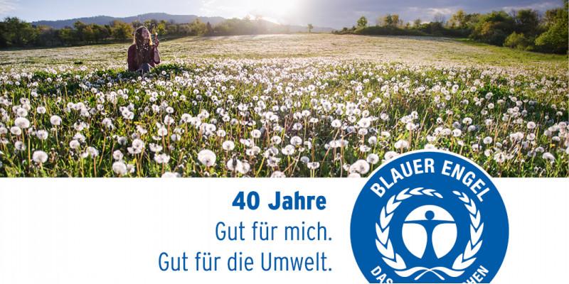 """Cover des Magazins """"40 Jahre Blauer Engel"""""""