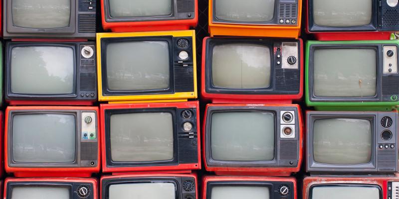 Alte Fernsehgeräte