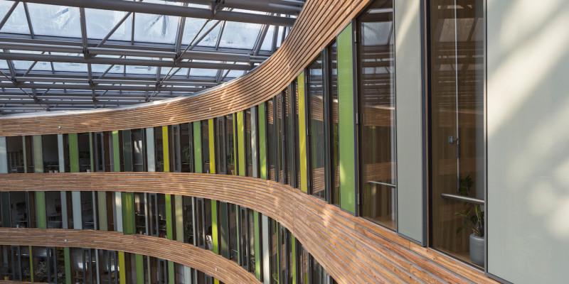 Innenansicht des UBA-Gebäudes