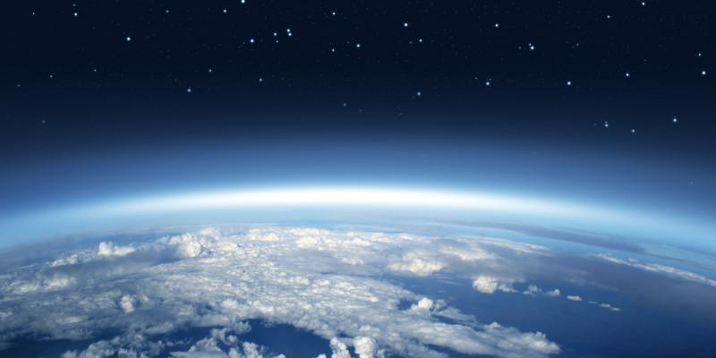 Die Erde aus dem All.