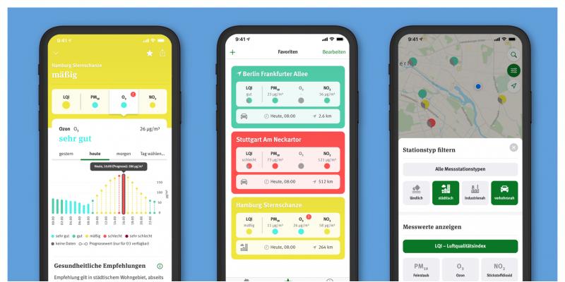 Screenshots Luft-App V2 -1