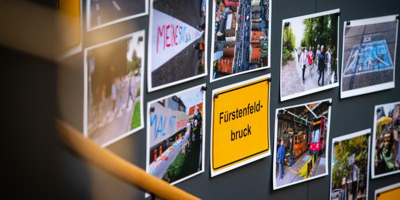 Fotoausstellung mit schönen Bildern von EMW-Aktionen