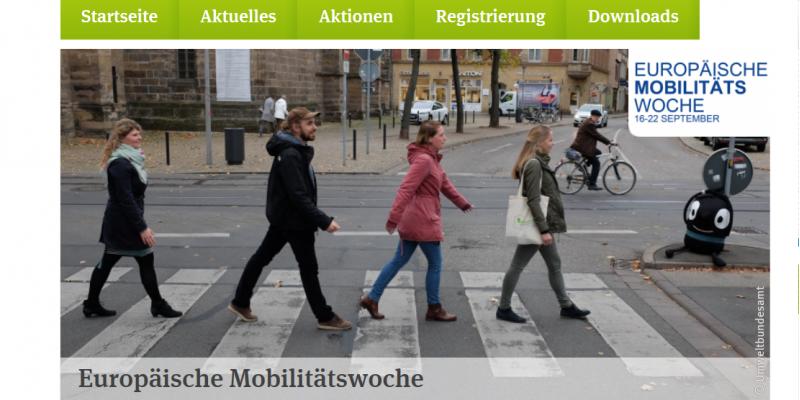 Zebrastreifenbild als Hintergrundbild der EMW-Startseite