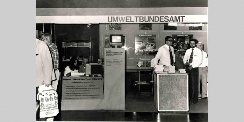 UFORDAT, Vorstellung auf der IFAT, 1978