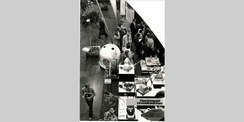 Vorstellung Blauer Engel auf Envitec 1980