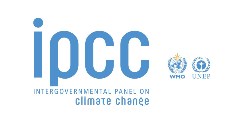 Logo of the Intergovernmental Panel on Climate Change, IPCC
