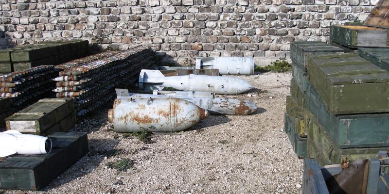 Munitionsplatz
