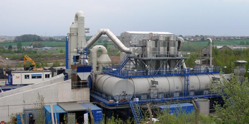 Soil treatment facility
